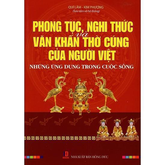 Phong tục nghi thức và văn khấn thờ cúng của người Việt