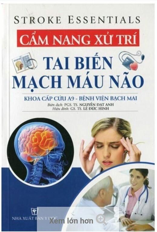Cẩm nang xử  trí biến mạch máu não