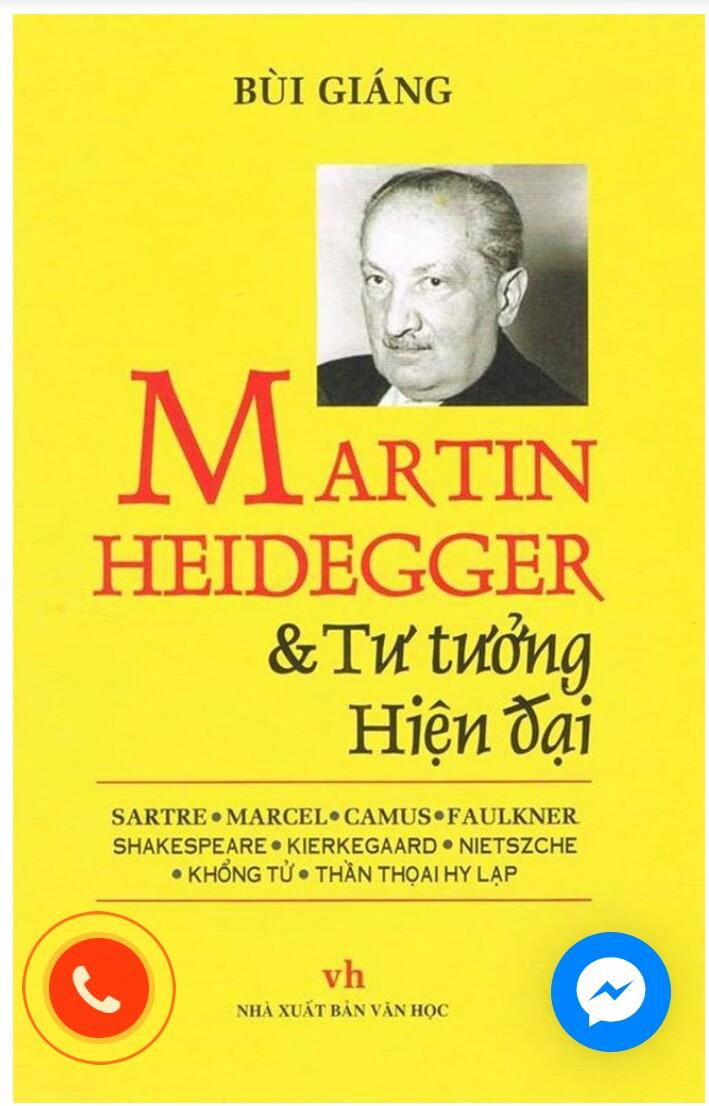 Martin Heidergger tư tưởng hiện đại