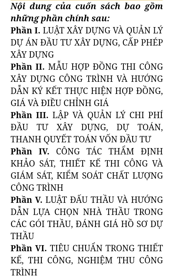 Luật xây dựng 2020