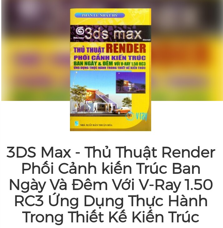 3ds max thủ thuật render