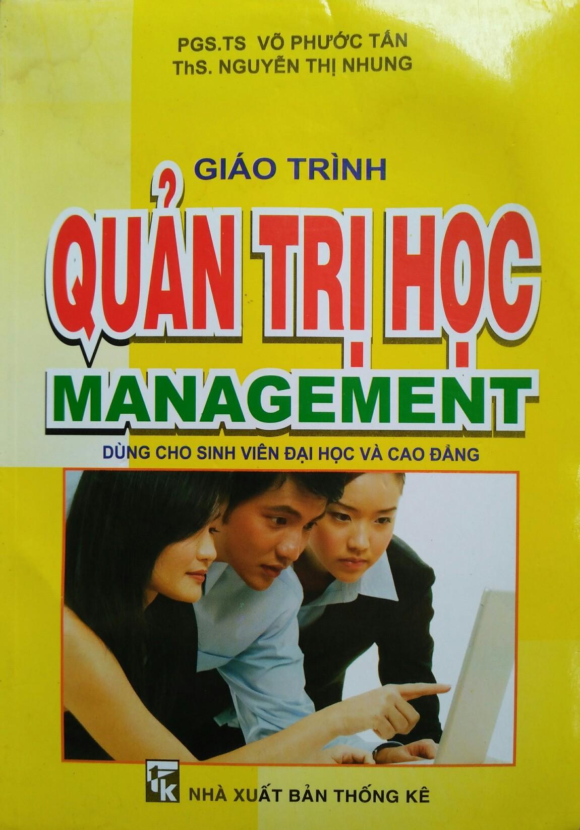 Quản trị học management