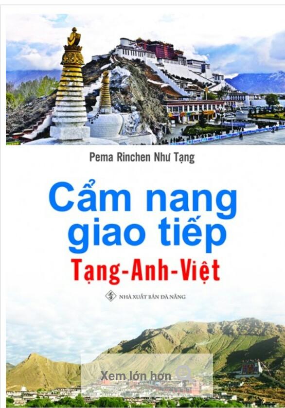Cẩm nang giao tiếp Tạng Anh Việt