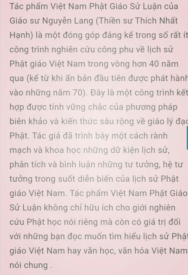 Việt Nam phật giáo sử luận - Bộ 3 tập