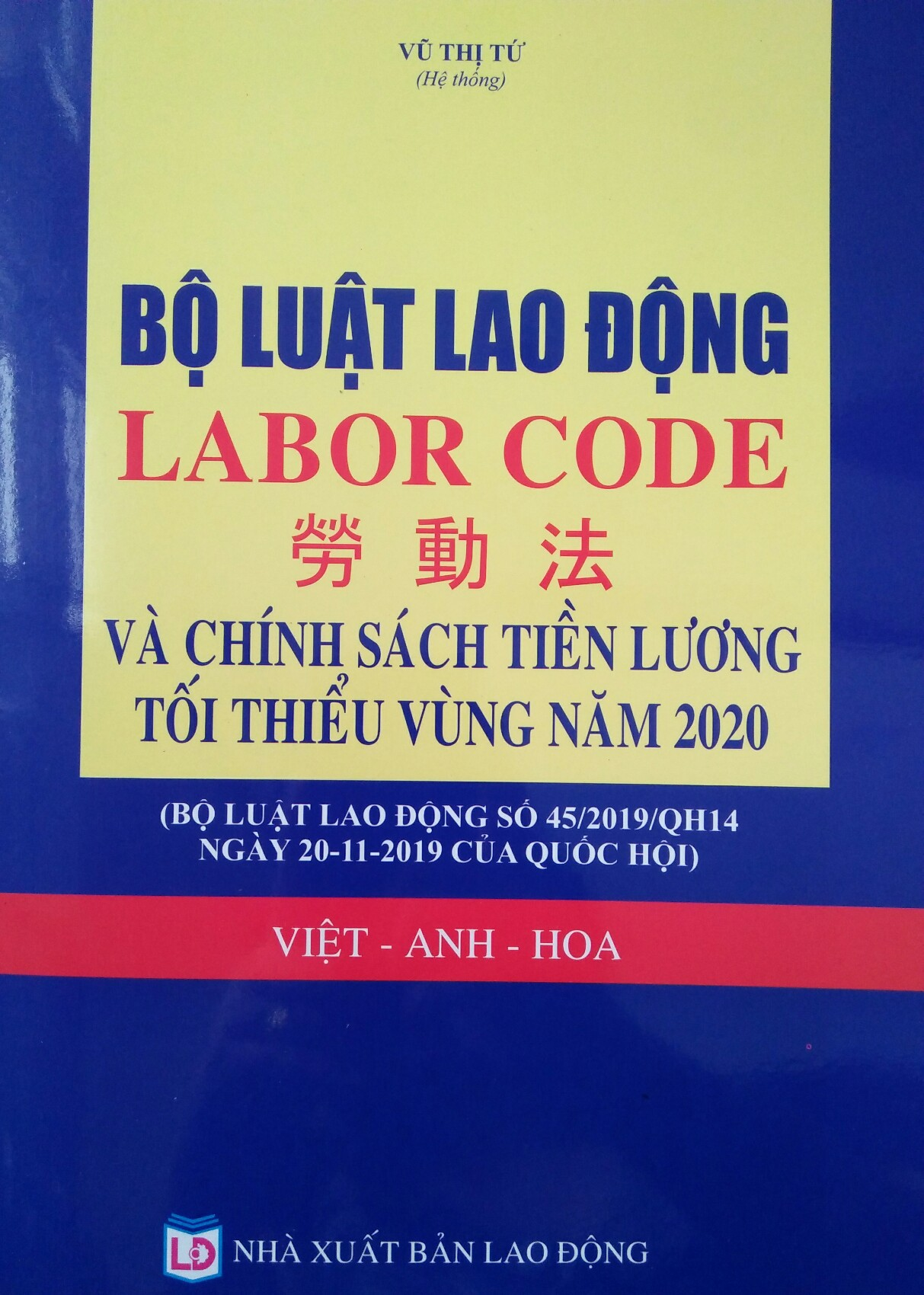 Luật lao động Việt Anh Hoa 2020
