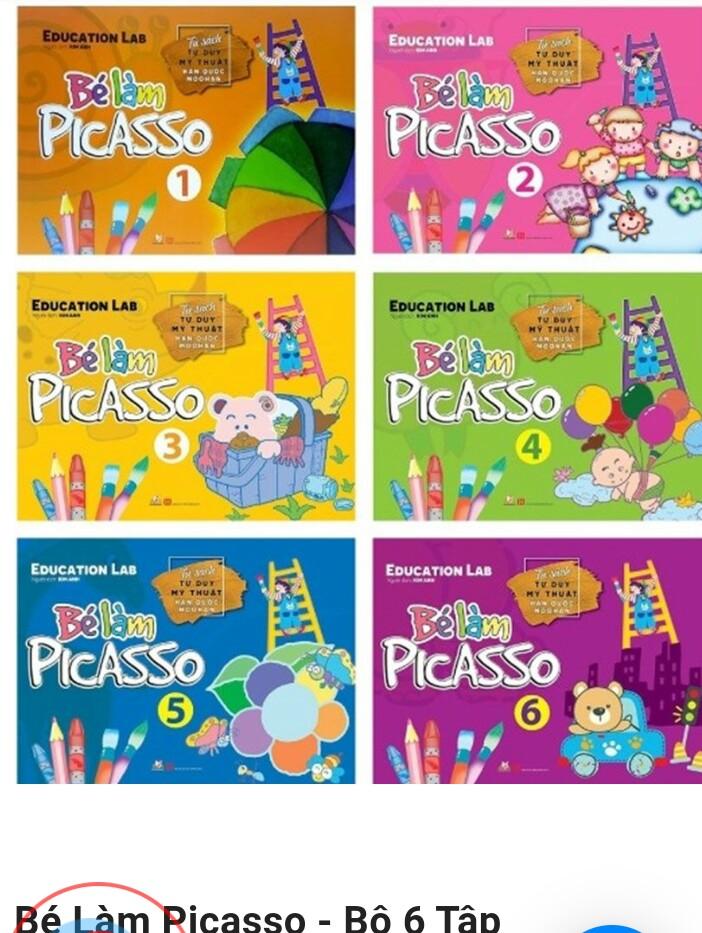 Bé làm Picasso